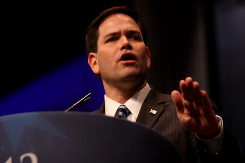 Senator Marco Rubio (R-FL), a key voice on immigration reform.