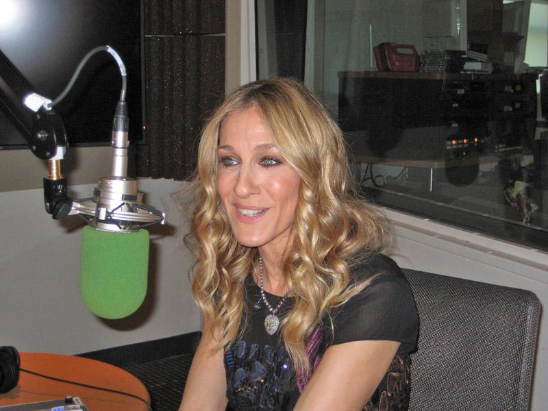 Sarah Jessica Parker in the WNYC studios