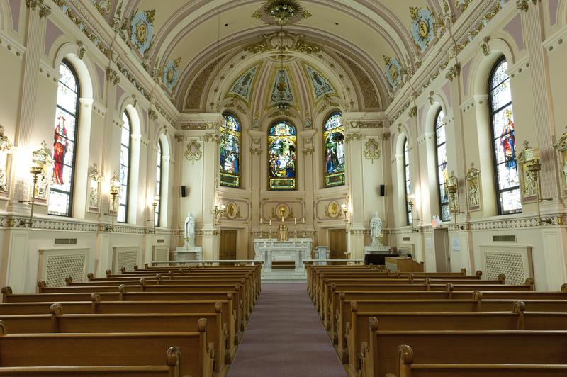 St. Elizabeth Ann Seton Chapel at St. Vincent's Hospital