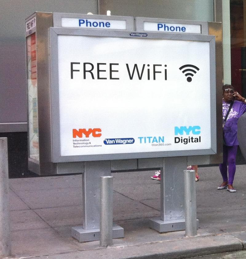 The city is introducing a wifi hot spot pilot program in about 10 locations.
