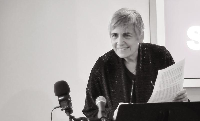 Margot Adler at the Soho Gallery for Digital Art October 1, 2013