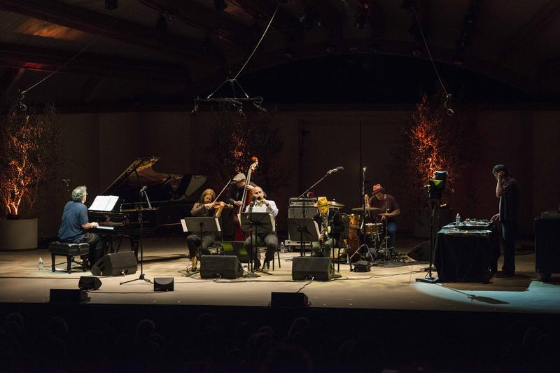 Pianist Uri Caine and the Uri Caine Ensemble perform Mahler Reimagined