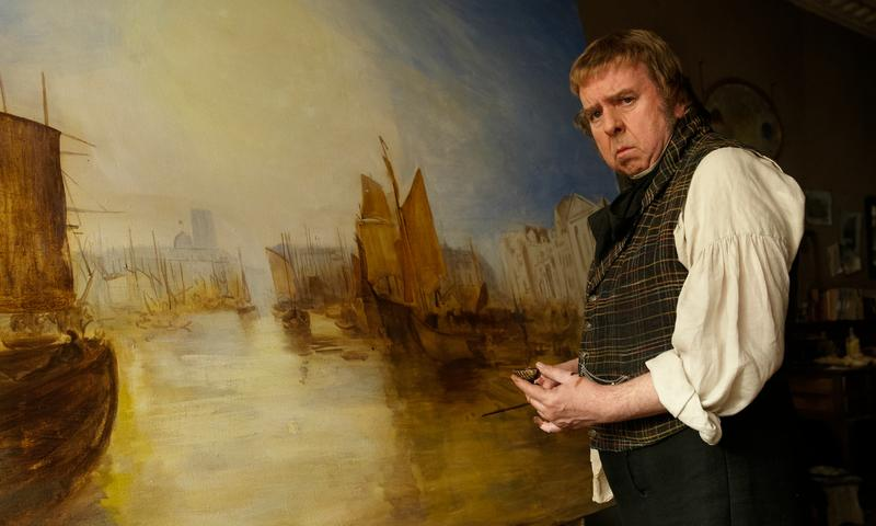 Timothy Spall as J.M.W. Turner in Mike Leigh's <em>Mr. Turner</em>