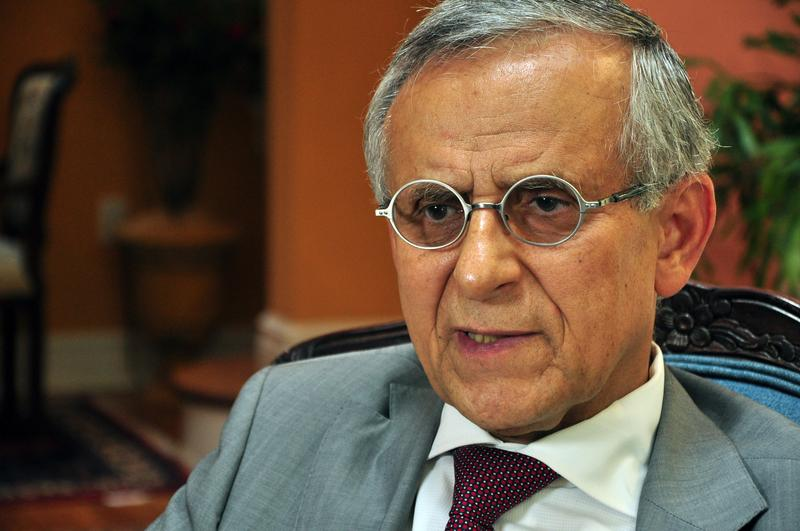 Rutgers professor Hooshang Amirahmadi, president of American–Iranian Council