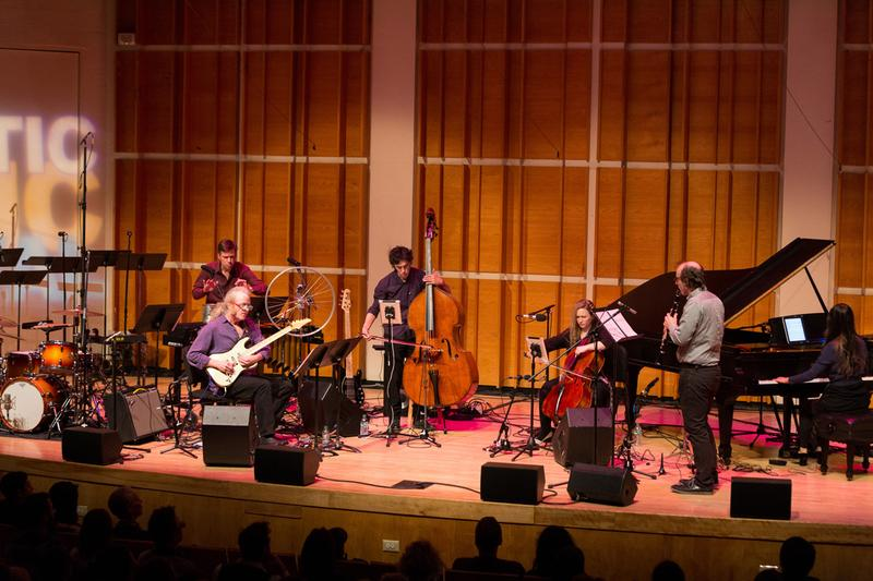 Bang on a Can All-Stars perform at the 2016 Ecstatic Music Festival