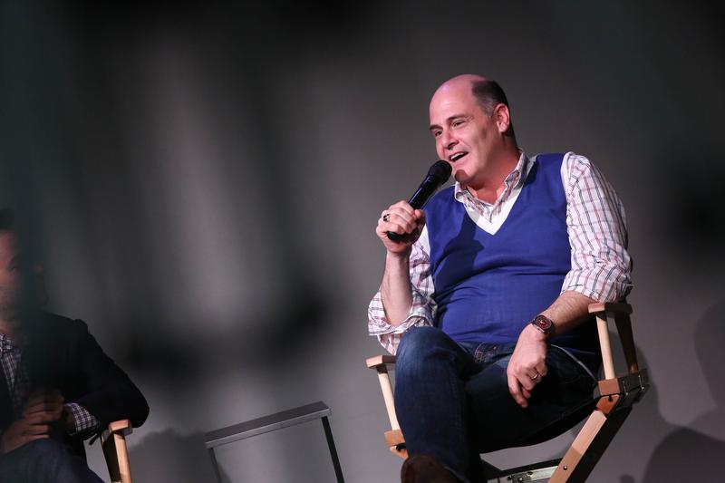Director Matthew Weiner attends 'Meet The Director' at Apple Store Soho on August 12, 2014 in New York City.