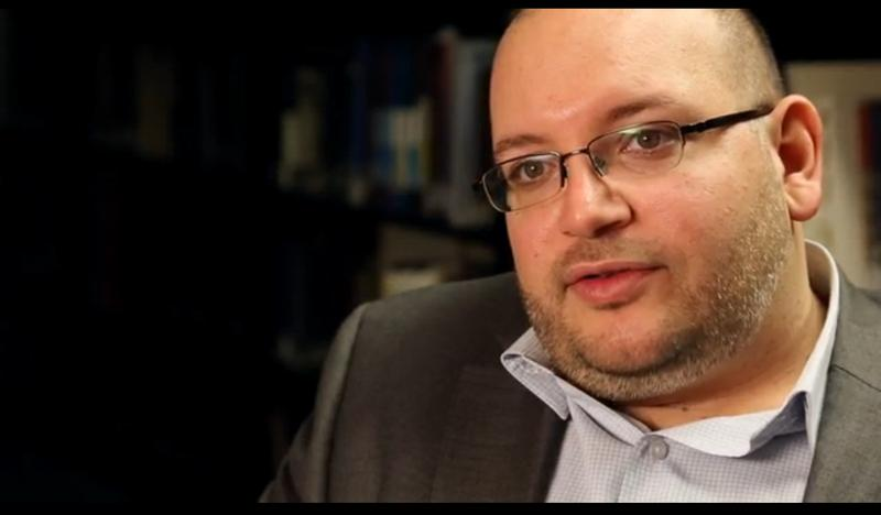 Jason Rezaian at The Washington Post in Washington, DC on November 6, 2013.