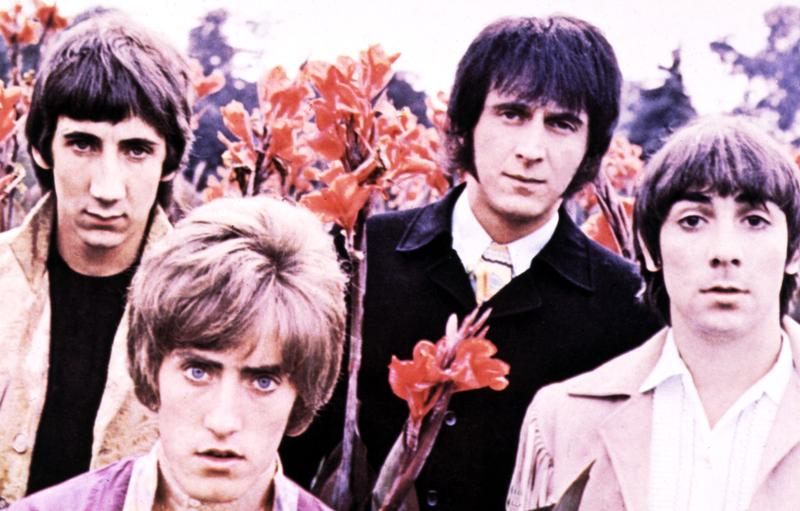 Photo of The Who in 1967. L-R: Pete Townshend, Roger Daltrey, John Entwistle, Keith Moon