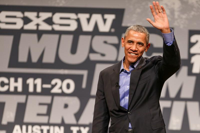 President Barack Obama speaks during the opening day of South By Southwest at the Long Center for the Performing Arts on Friday, March 11, 2016, in Austin, Texas.
