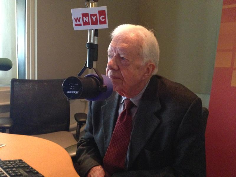 President Jimmy Carter in the WNYC Studios