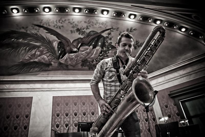 Colin Stetson, whose re-working of Gorecki's Symphony No. 3, is due out in April 2016