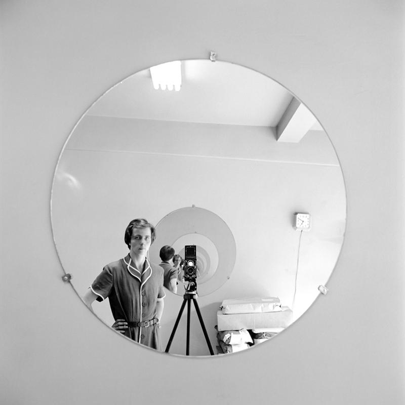"Vivian Maier self-portrait from John Maloof and Charlie Siskel's ""Finding Vivian Maier."""