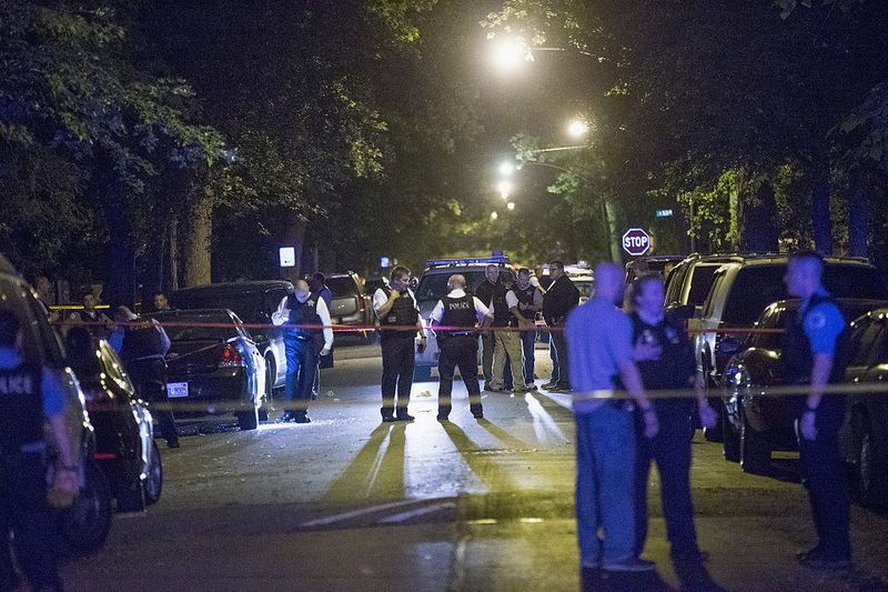 Five People Shot, Including An Infant, On Chicago's South Side