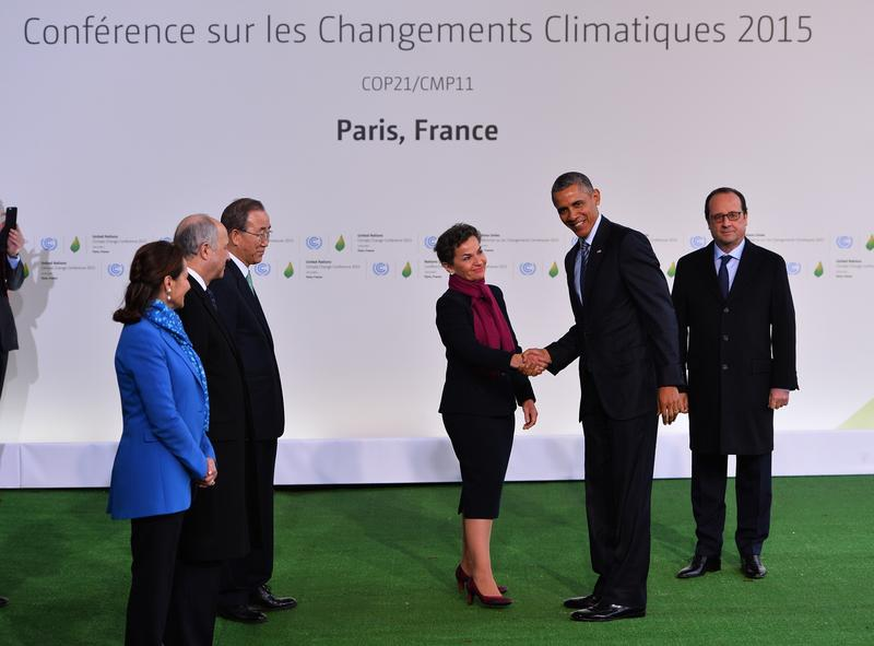 Nearly 200 world leaders are in Paris trying to write a plan to address climate change. Wall Street won't have a vote, but investors are watching.