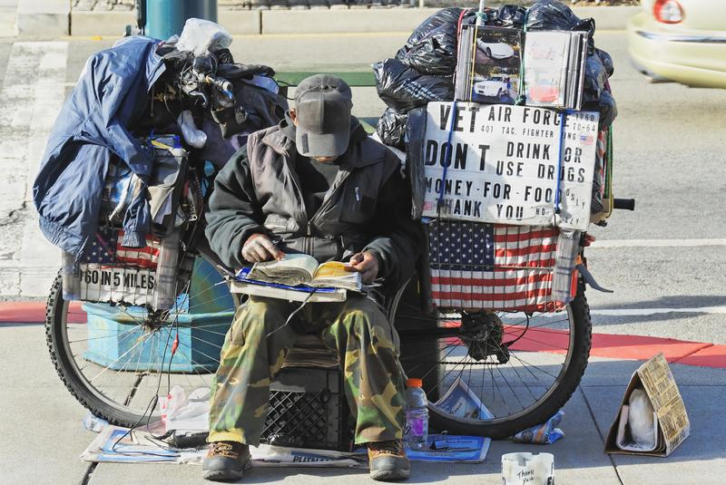 According to the U.S. Department of Housing and Urban Development, nearly 50,000 veterans are homeless on any given night.