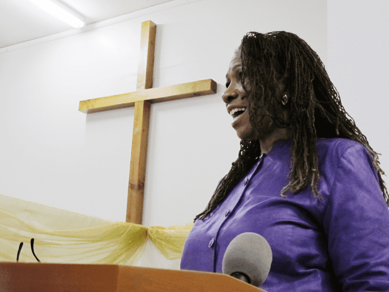 Bishop Gwendolyn Phillips Coates, a pastor at God Answers Prayer Ministries in Los Angeles, is trying to change the way her congregation thinks about end-of-life care.