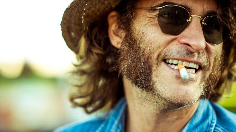 Joaquin Phoenix stars in Paul Thomas Anderson's Inherent Vice, an adaptation of Thomas Pynchon's 2009 novel.