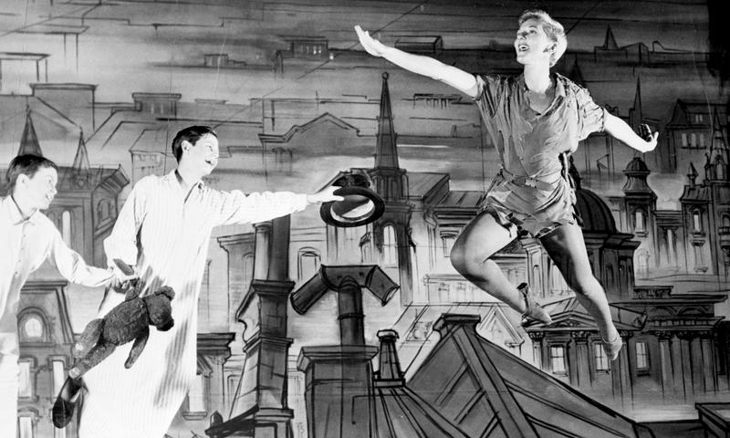 """Jack Viertel was five years-old when he saw Mary Martin (pictured here) in the original Broadway production of """"Peter Pan"""""""