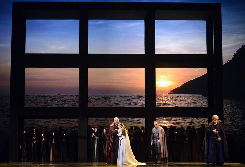 Verdi's 'Simone Boccanegra' from La Fenice in Venice.