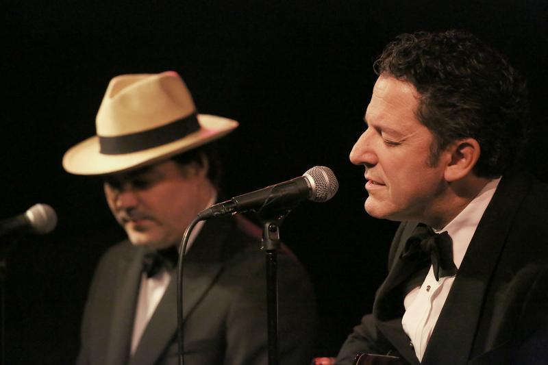 Left to Right: Daniel Jobim & John Pizzarelli