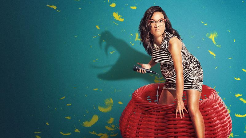 Comedian Ali Wong in a promotional image for her stand-up special 'Baby Cobra.'