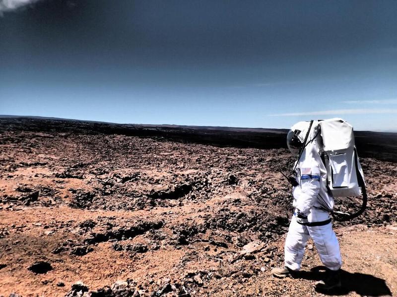 "HI-SEAS scientist Anne Caraccio on a simulated ""mission"" to ""Mars."""