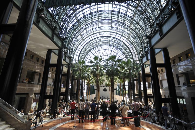 The Winter Garden at Brookfield Place