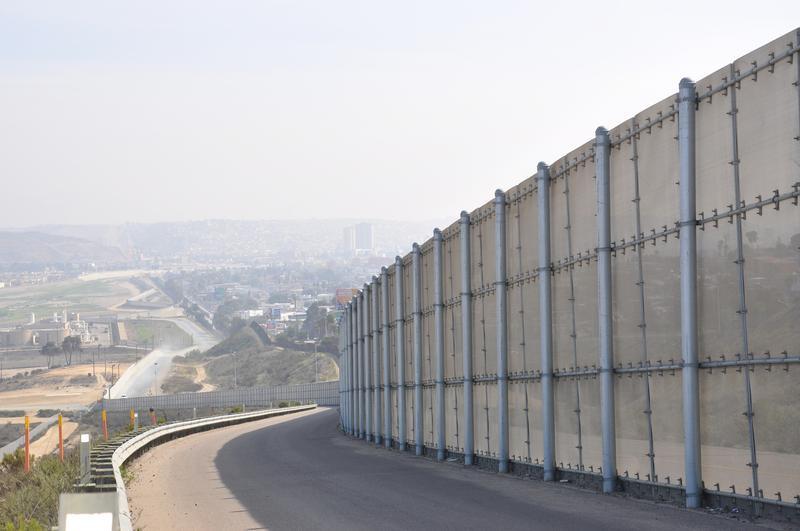 The U.S.-Mexican border.