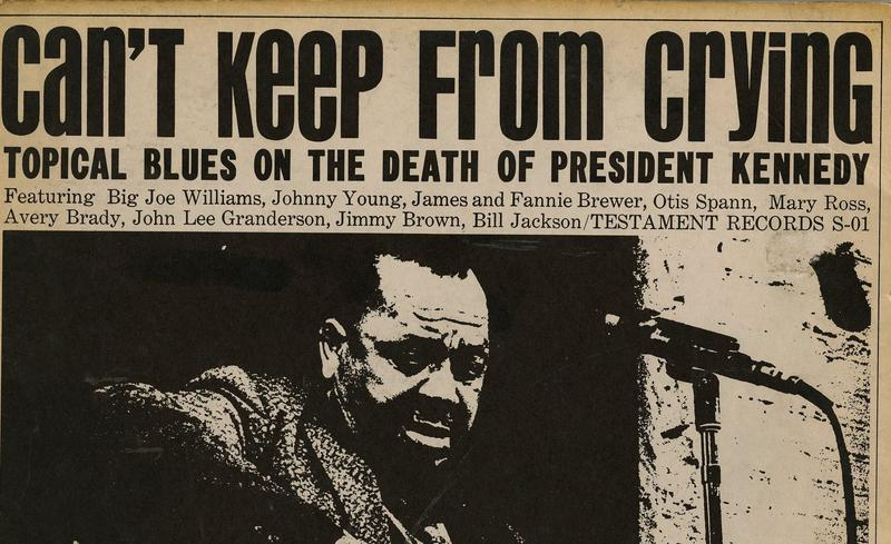 "The album ""Can't Keep From Crying"" was recorded in the weeks after the assassination of President Kennedy."