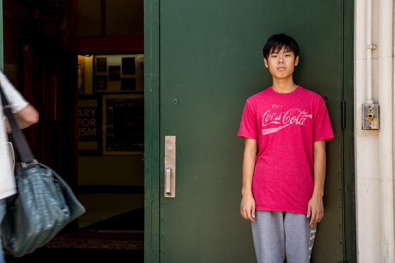 Colin Ozeki, a senior at Millennium Brooklyn High School, is on track to graduate with an Advanced Regents Diploma.