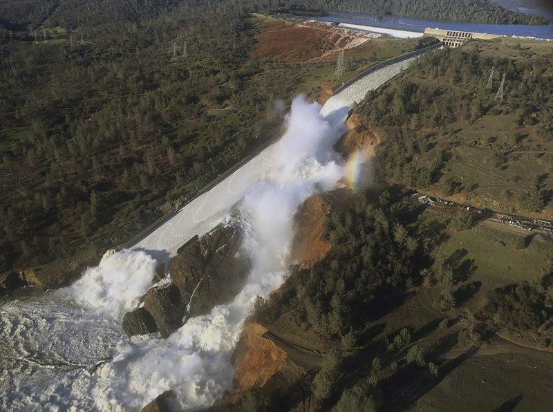 Crews working around the clock on damaged dam