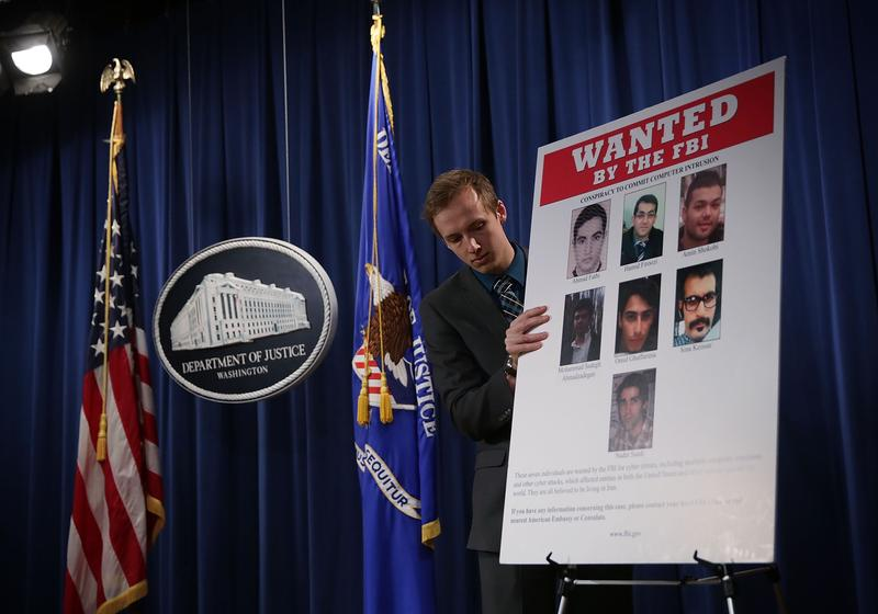 A grand jury in the Southern District of New York has indicted seven Iranian who were employed by two Iran-based computer companies that performed work on behalf of the Iranian Government.