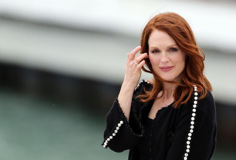 Julianne Moore at the Cannes Film Festival in 2014