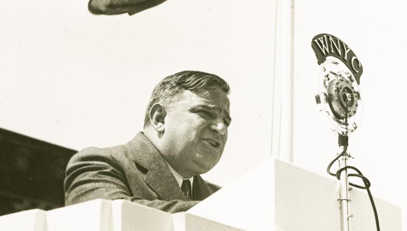 Mayor Fiorello H. La Guardia in May 1936.