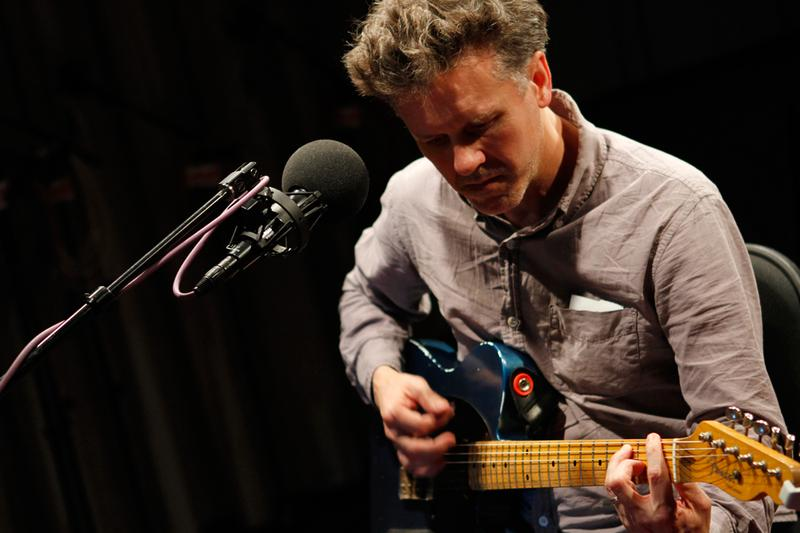 Mac McCaughan performs in the Soundcheck studio.