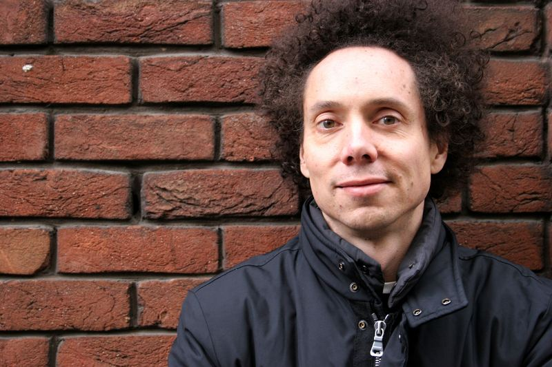 Portrait of author Malcolm Gladwell photographed in Covent Garden, London in February 2005.
