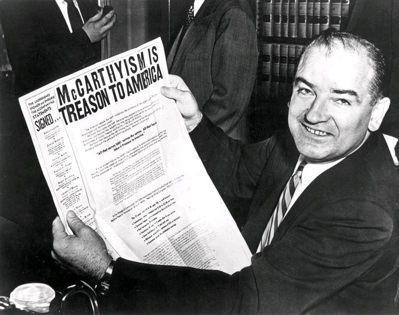 Senator Joseph R. McCarthy (R-Wisconsin)
