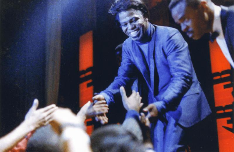 James Brown at the Apollo in 1960s