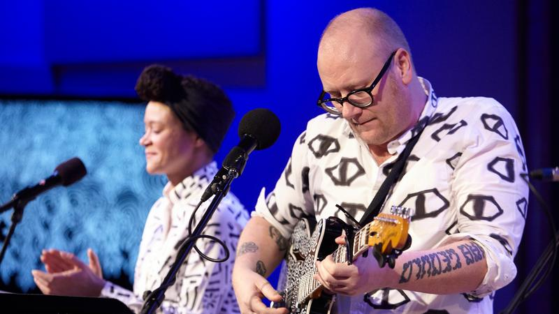 "Amber Gray and Mike Doughty perform ""Revelation"""