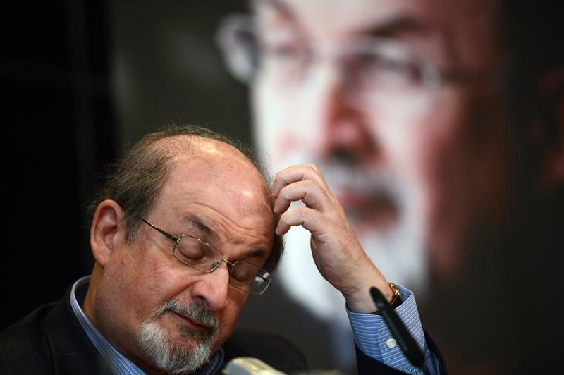 As violent protests over a US-made film rock the Muslim world in 2012, Salman Rushdie publishes his account of the decade he spent in hiding while under a fatwa for his book 'The Satanic Verses'.