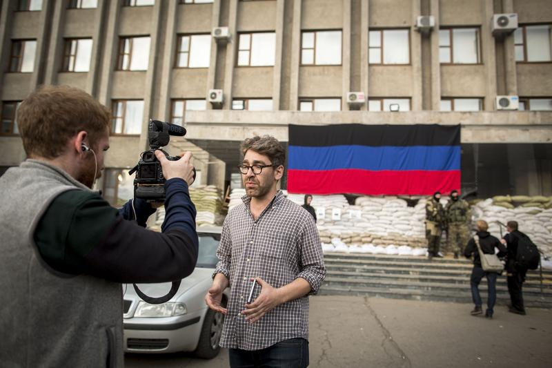 VICE News' Simon Ostrovsky was kidnapped while covering the crisis in Ukraine
