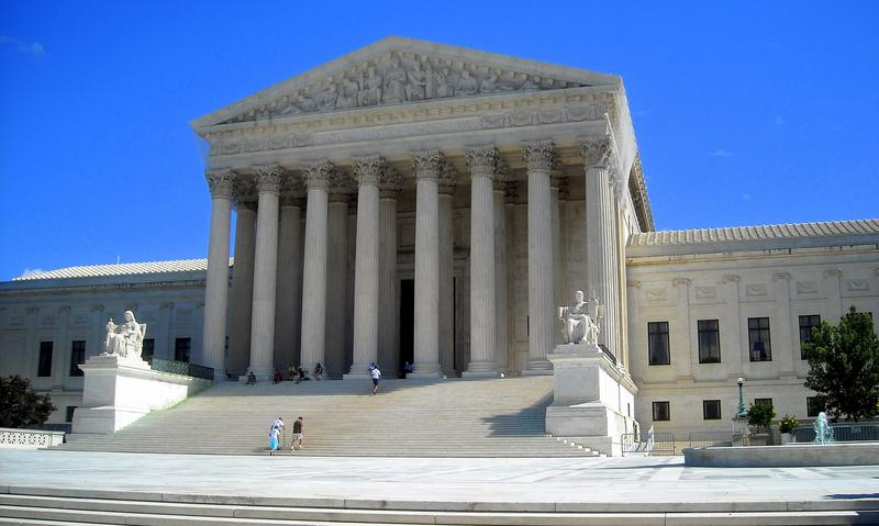 United States Supreme Court building at 1 First Street, NE in Washington, D.C.