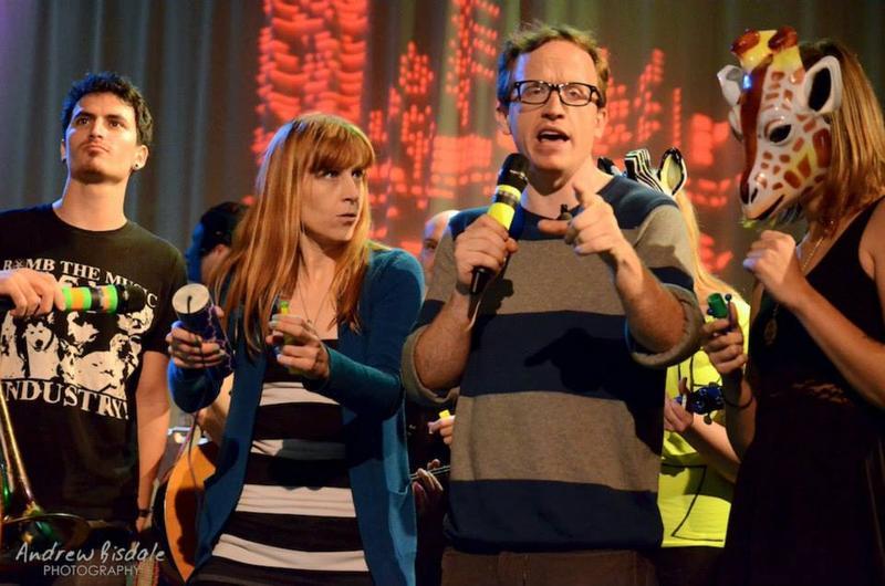Chris Gethard and Hallie Bulleit on The Chris Gethard Show