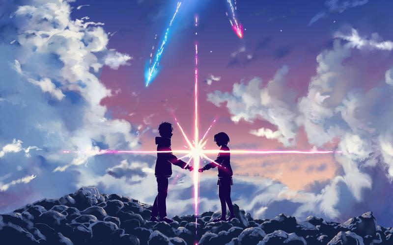 """From the 2017 film """"Your Name."""""""