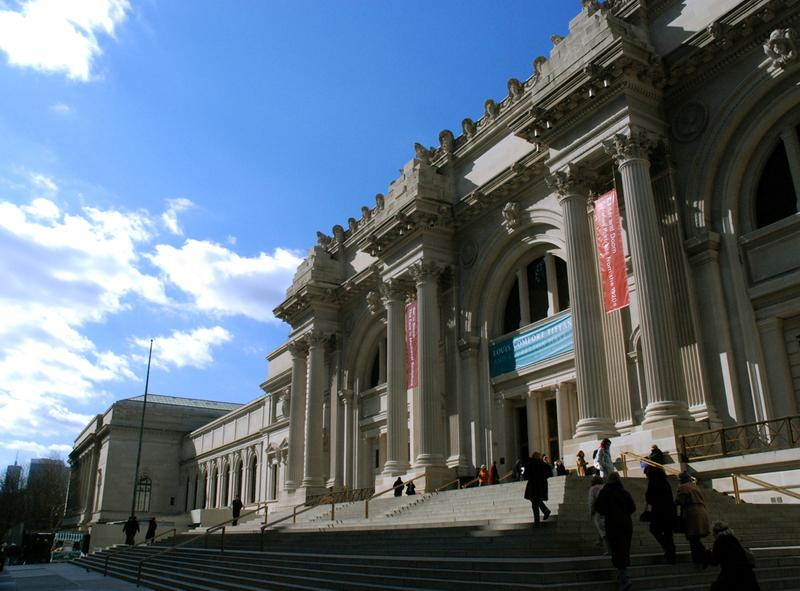 outside of the Met Museum