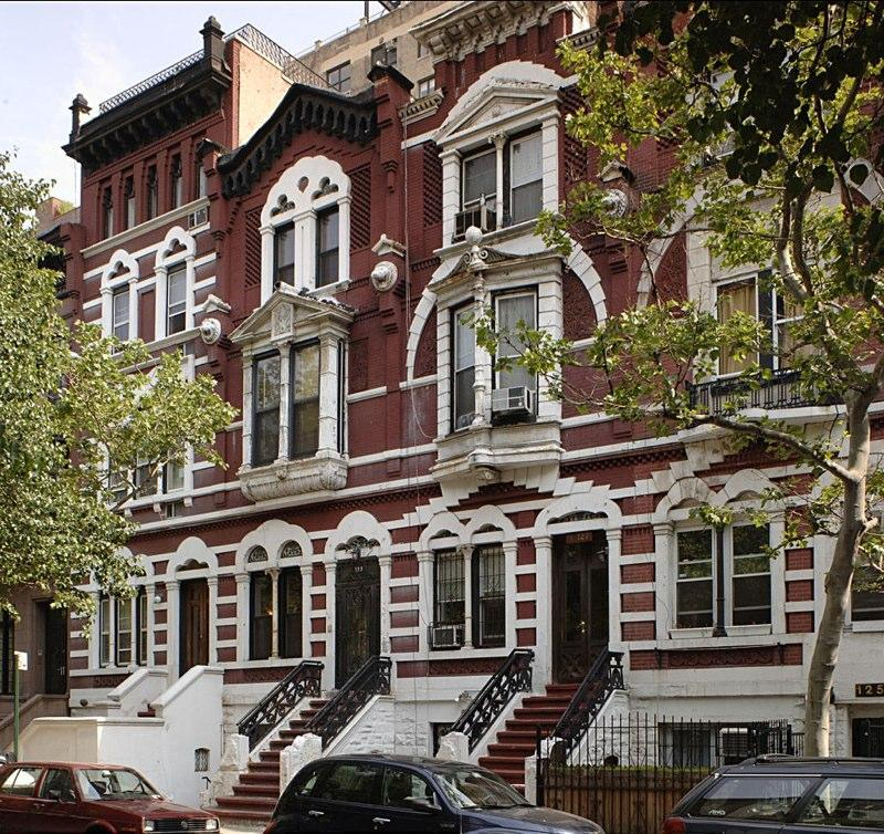 Bernard Levy Houses. Bernard Levy, an acomplished real estate broker in Manhattan, hired Guastavino  as the architect for a series of row houses (pictured here) on the West Side in 1885 and 1886.