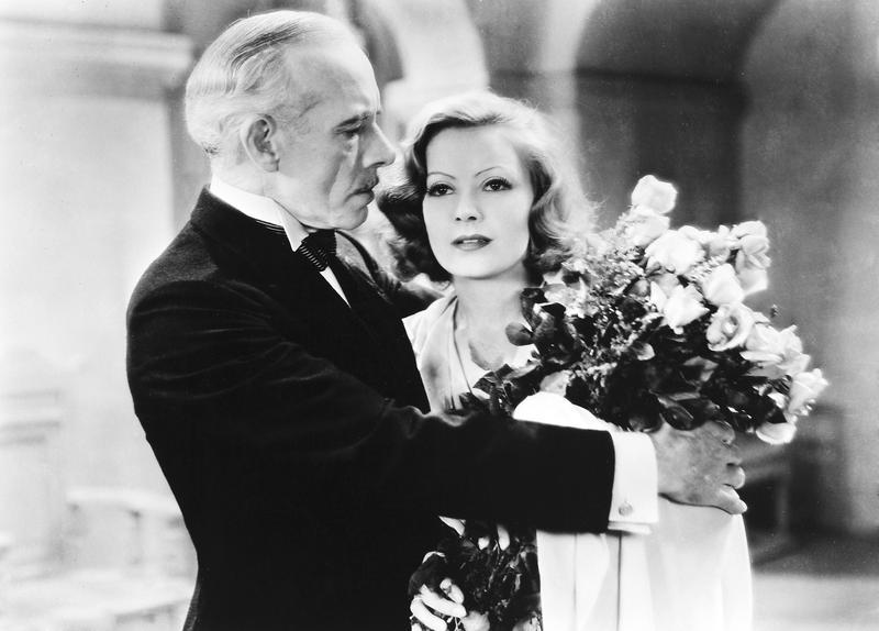 Greta Garbo and Lewis Stone in <em>A Woman of Affairs</em>