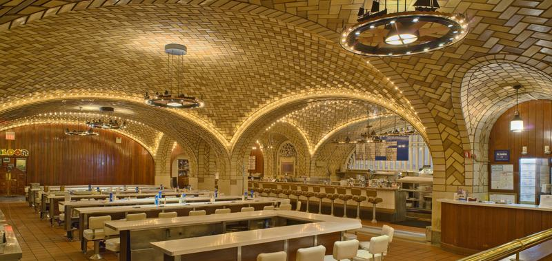 The Oyster Bar in Grand Central Terminal.
