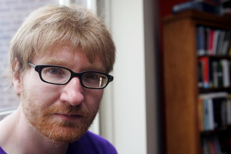 Writer Chuck Klosterman poses at his home Tuesday July 11, 2006 in New York. Klosterman has emerged as the unlikely pop critic of a generation.
