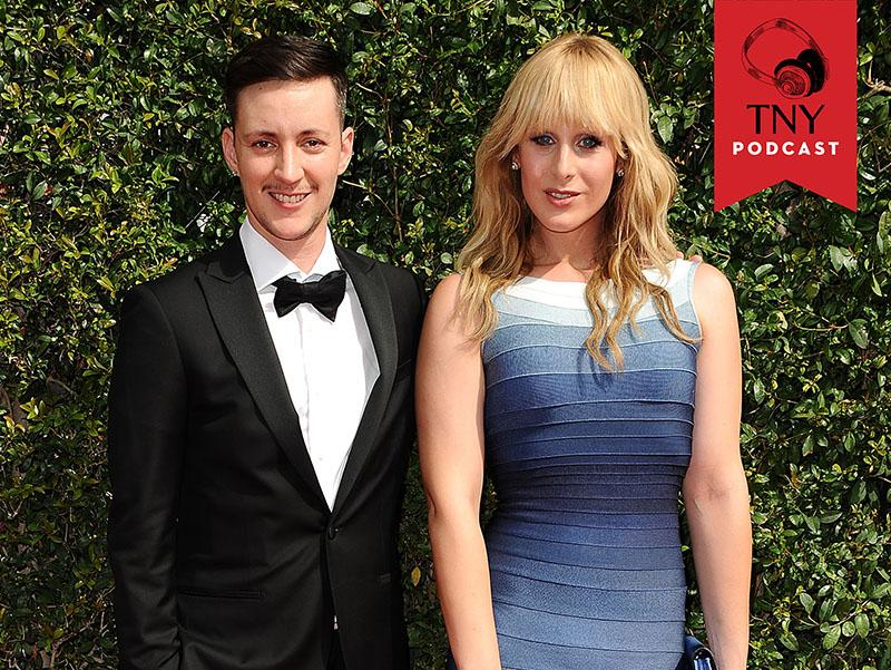 LOS ANGELES, CA - SEPTEMBER 12: Rhys Ernst and Zackary Drucker attend the 2015 Creative Arts Emmy Awards at Microsoft Theater on September 12, 2015 in Los Angeles, California.